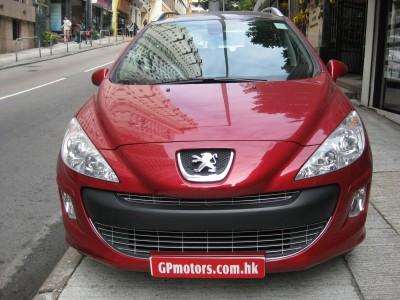 308SW  標緻 Peugeot 2009 RED 紅色 1743  [0]