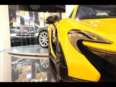 P 1,麥拿倫 McLaren,2014,YELLOW 黃色,