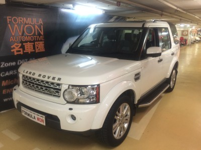 Discovery 4 5.0 Petrol,路華 Rover,2010,WHITE 白色,
