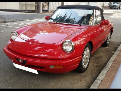 Spiderveloce,愛快 Alfa Romeo,1992,RED 紅色,2,3341