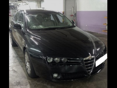 159,愛快 Alfa Romeo,2007,BLACK 黑色,5,3394