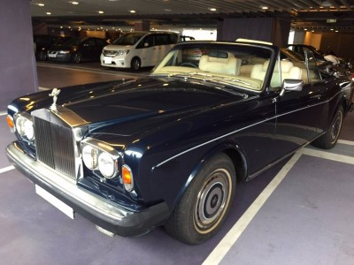 Corniche,勞斯箂斯 Rolls Royce,1981,BLUE 藍色,5,3454