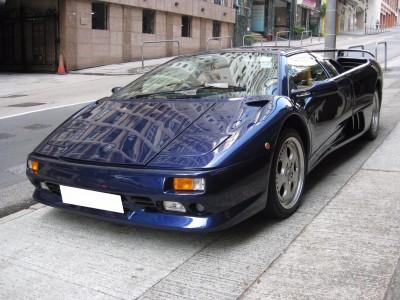 Diablo Roadster,林寶堅尼 Lamborghini,1996,BLUE 藍色,2,3483