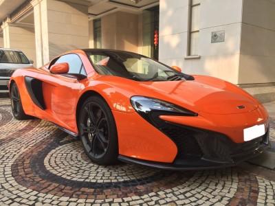 650S Spider,麥拿倫 McLaren,2015,ORANGE 橙色,2,
