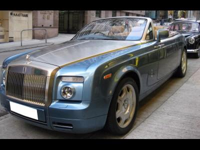 Phantom Drophead Coupe,勞斯箂斯 Rolls Royce,2010,BLUE 藍色,,3518