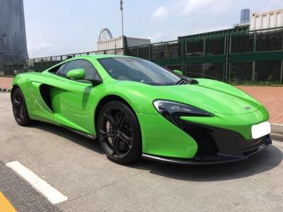 650S,麥拿倫 McLaren,2014,GREEN 綠色,2,