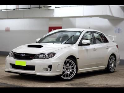 IMPREZA WRX STi,富士 Subaru,2012,WHITE 白色,5,