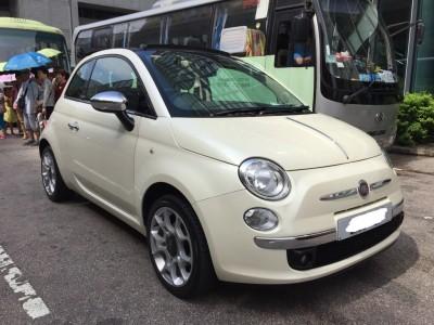 500C,快意 Fiat,2013,WHITE 白色,4,