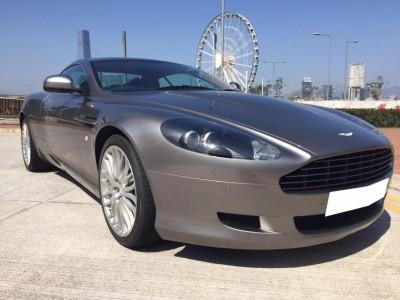 DB9,阿斯頓馬丁 Aston Martin,2009,GREY 灰色,4,3587