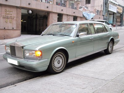 Spur III EWB,勞斯箂斯 Rolls Royce,1997,GREEN 綠色,5,3559