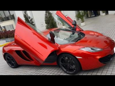 MP4-12C,麥拿倫 McLaren,2012,RED 紅色,2,3553