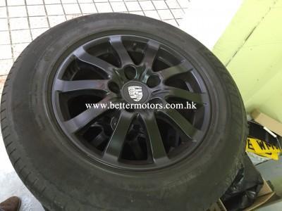 胎軨,Cayenne,Porsche factory,