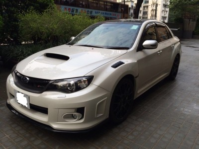 STi S206,富士 Subaru,2012,WHITE 白色,5,