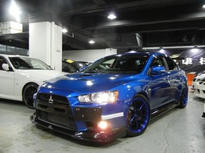 LANCER EVOLUTION X GSR,三菱 Mitsubishi,2009,BLUE 藍色,5,