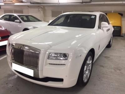 Ghost,勞斯箂斯 Rolls Royce,2014,WHITE 白色,5,3635