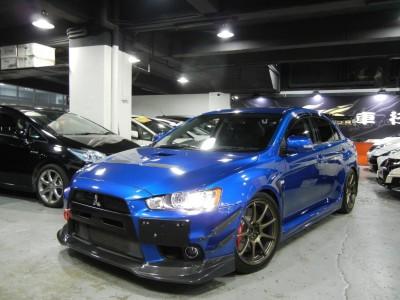 LANCER EVOLUTION X GSR ,三菱 Mitsubishi,2009,BLUE 藍色,5,