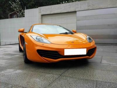 MP4-12C,麥拿倫 McLaren,2012,ORANGE 橙色,2,3657