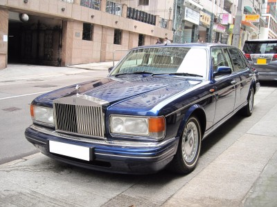 Silver Spur W/Division,勞斯箂斯 Rolls Royce,1997,BLUE 藍色,5,3675