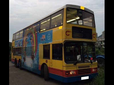 Olympic 12M,富豪 Volvo,1998,YELLOW 黃色,,3683A
