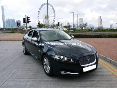 XF 2.0 I4 TI Lux,積架 Jaguar,2013,BLACK 黑色,5,