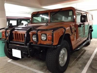 H1 6.5L Turbo Diesel,悍馬 Hummer,2001,ORANGE 橙色,4,3692