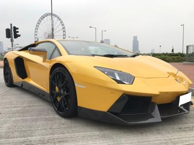 Aventador LP700-4,林寶堅尼 Lamborghini,2014,YELLOW 黃色,2,