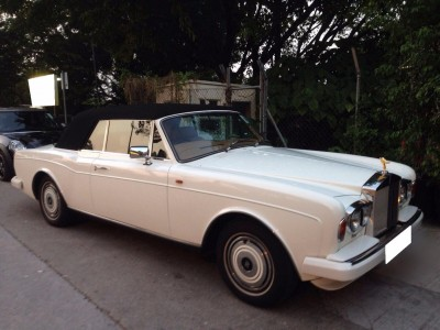 Corniche,勞斯箂斯 Rolls Royce,1986,WHITE 白色,5,3724