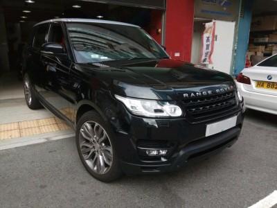 越野路华 Range Rover Sport 5.0 SC DYN