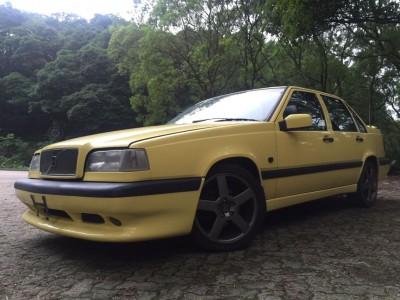 850 T5R,富豪 Volvo,1995,YELLOW 黃色,5,