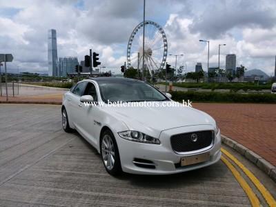 XJ 3.0 S/C LWB,積架 Jaguar,2013,WHITE 白色,5,
