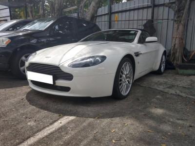 Vantage,阿斯頓馬丁 Aston Martin,2008,WHITE 白色,2,3739