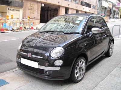 500 Cab,快意 Fiat,2012,BLACK 黑色,4,3741