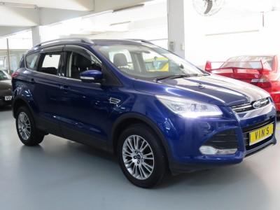 KUGA 1.6,福特 Ford,2014,BLUE 藍色,,
