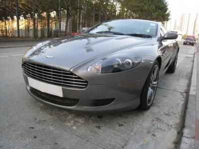 DB9,阿斯頓馬丁 Aston Martin,2005,GREY 灰色,4,