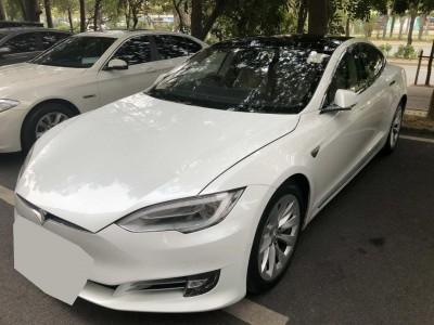 Model S90D,特斯拉 Tesla,2016,WHITE 白色,5,