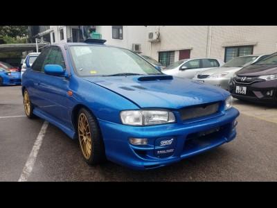 Wrx sti type r ,富士 Subaru,1998,BLUE 藍色,4,