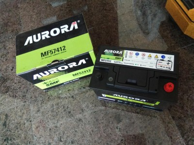 其他,MF57412,歐洲車系 汽車電池 韓國品牌 AURORA MF57412 74AH,