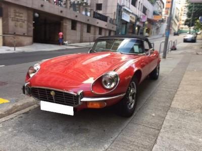 E-type V12 Cab,積架 Jaguar,1972,RED 紅色,2,3653