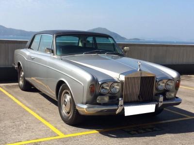 Corniche ( HARD TOP ),勞斯箂斯 Rolls Royce,1972,SILVER 銀色,5,3780