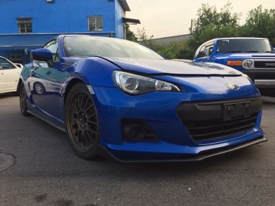 Brz,富士 Subaru,2013,BLUE 藍色,4,