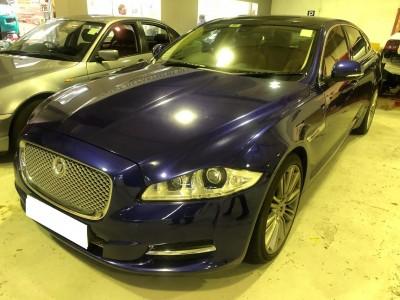 XJL,積架 Jaguar,2010,BLUE 藍色,5,3784