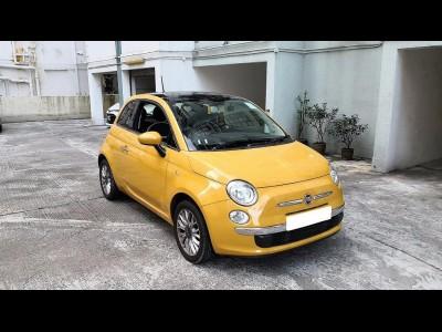 500 1.4 LOUNGE,快意 Fiat,2015,YELLOW 黃色,4,