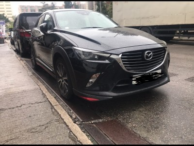Cx-3 iplus ,萬事得 Mazda,2017,BLACK 黑色,5,
