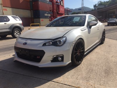 BRZ TS GT package Supercharge ,富士 Subaru,2014,WHITE 白色,4,