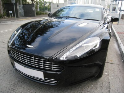 RAPIDE,阿斯頓馬丁 Aston Martin,2010,BLACK 黑色,4,