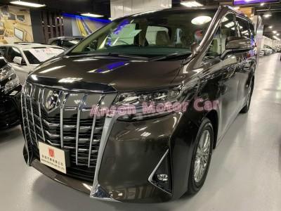 ALPHARD FACELIFT 3.5 GF V6,豐田 Toyota,2020,BROWN 啡色,7,C166039