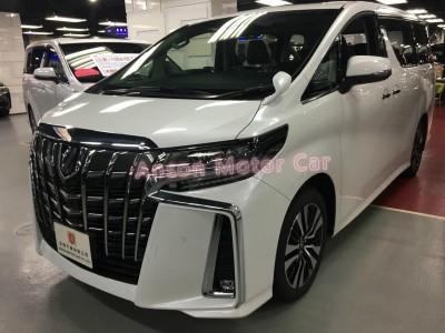 ALPHARD FACELIFT 3.5 SC,豐田 Toyota,2020,WHITE 白色,7,C122 / C166190