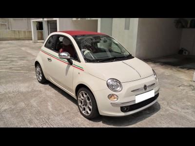 500C 1.4 LOUNGE,快意 Fiat,2012,WHITE 白色,4,