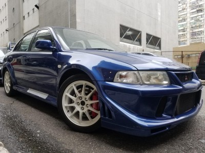 LANCER EVOLUTION 6.5 TME,三菱 Mitsubishi,2000,BLUE 藍色,4,