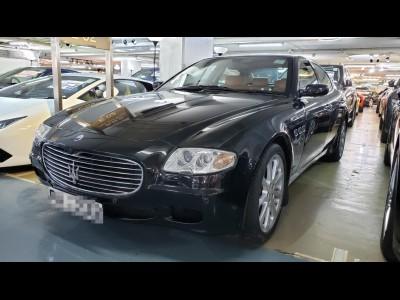 quattroporte,瑪莎拉蒂 Maserati,2007,BLACK 黑色,5